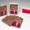 Rudolph Party Christmas Cards (Box of 8)