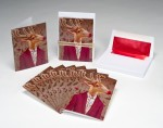 Rudolph Party Christmas Card Box Set with Envelopes